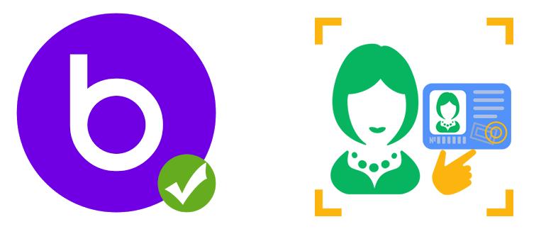 Логотип фотоверификация в Баду