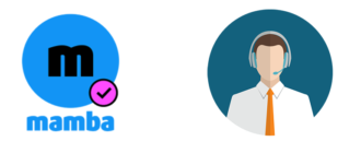 Мамба техническая поддержка логотип