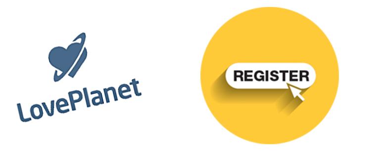 Страница и регистрация в ЛавПланет