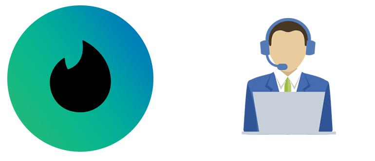 Тиндер Техподдержка логотип