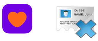 Удалить аккаунт в баду приложения и браузер